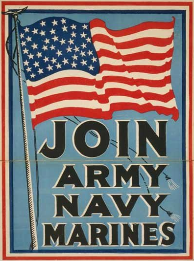 military recruiting poster